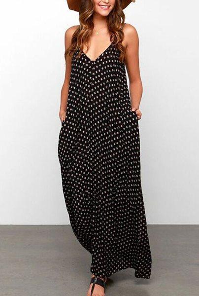 9dd998909cf Купить Длинный сарафан в горох недорого. интернет магазин одежды