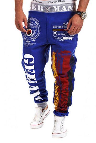 Цветные спортивные штаны