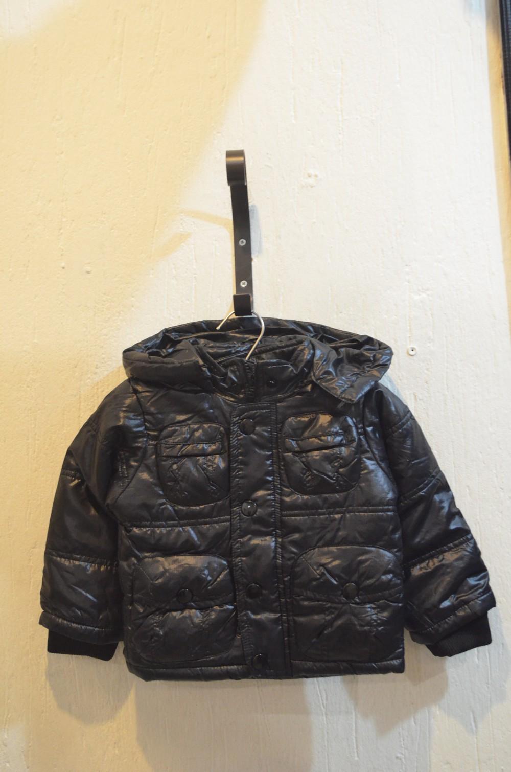 Куртка для мальчика (1 год), черная