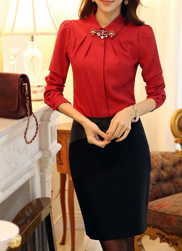 Блузка Рубашечного Типа