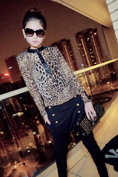 Блузка С Леопардовым Принтом В Волгограде