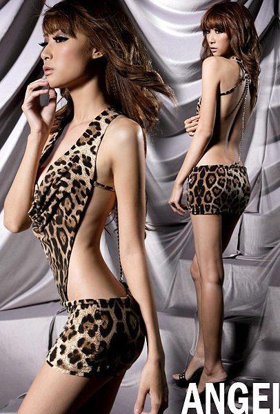 Леопардовая комбинация
