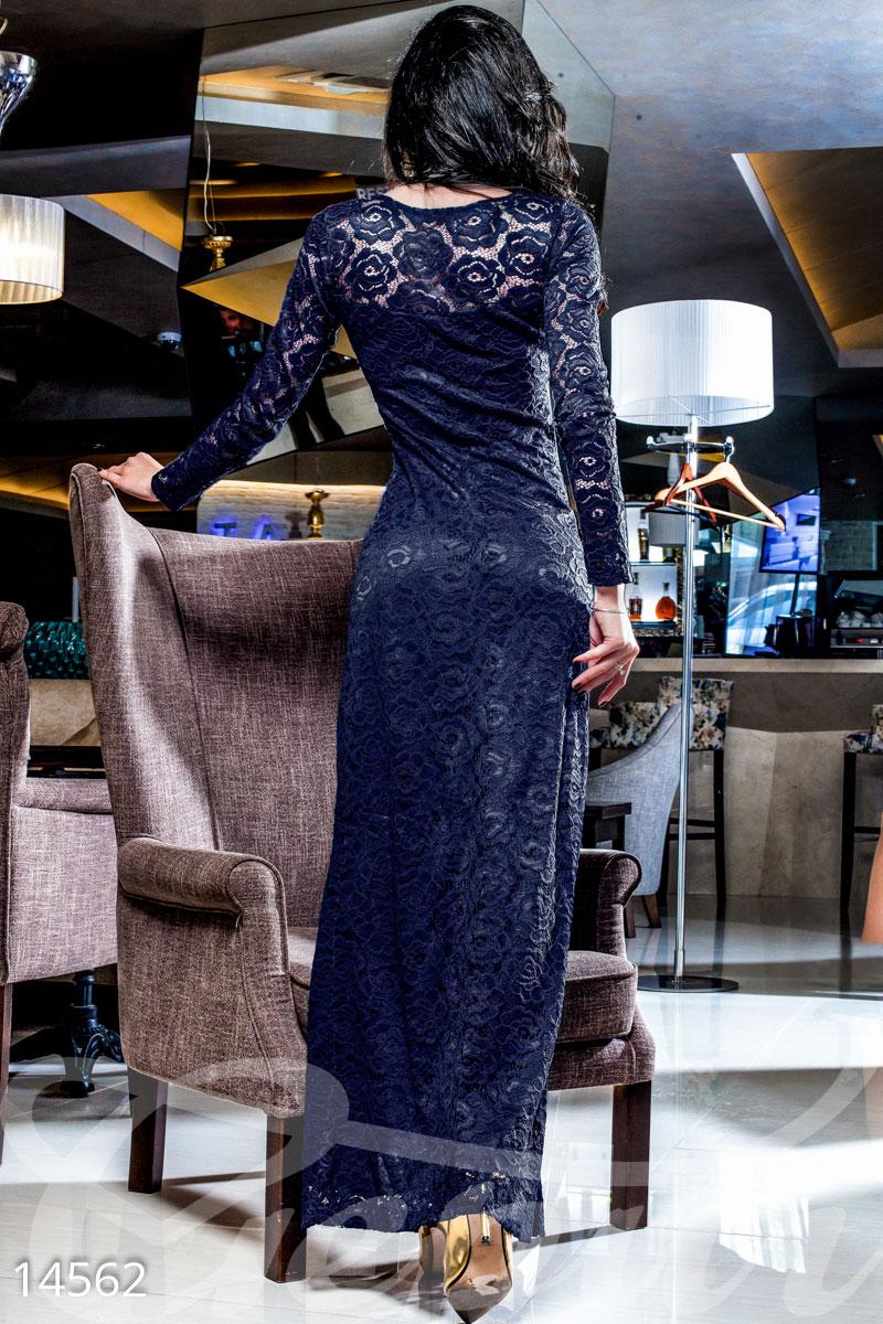 Смотреть вечерние платья с гипюром