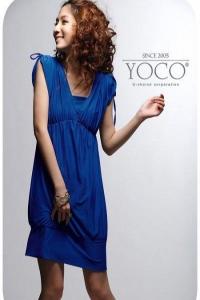 '.KK-160515#Платье голубое .'