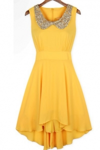 '.Платье желтое .'