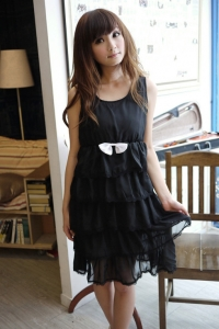 '.Черное платье .'