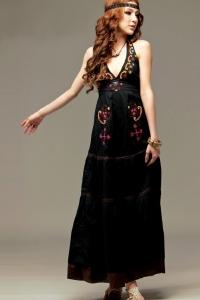 '.Платье черное .'