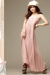 '.Сарафан розовый .'