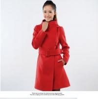 '.Пальто красное (размер S) .'