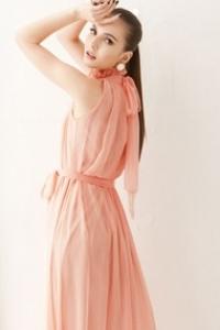 '.Платье с поясом .'