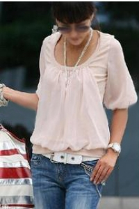 '.Нежно-розовая блузка .'