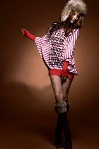 Блузка красная (размер L)