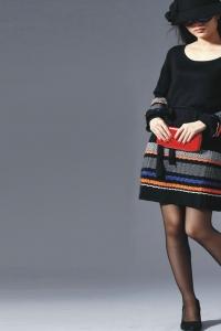 '.Платье с длинным рукавом (размер L) .'