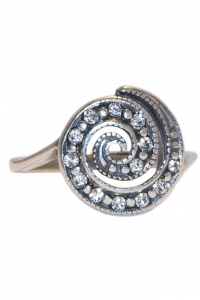 '.Кольцо Завиток серебро .'
