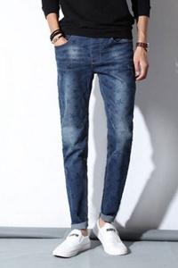 '.Принтованные мужские джинсы .'