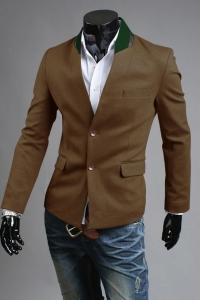 '.Однобортный пиджак .'