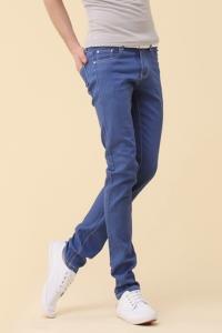 Синие мужские брюки