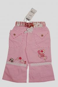 Брючки для девочки розовые (6 лет)