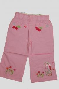 '.Брючки для девочки розовые с вишенкой (5 лет) .'