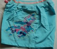 Голубые шорты с вышвкой и карманом р-р. L