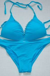 Голубой раздельный купальник р-р. 42