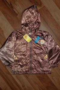 '.SG-2909L13#Куртка коричневая на флисе для мальчика, р-р L. .'