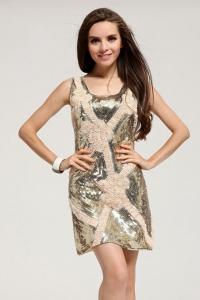 '.Платье с блестками .'