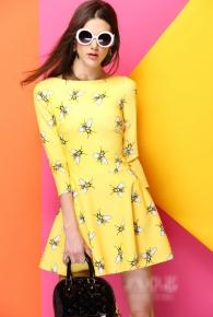 '.Платье с пчелами .'