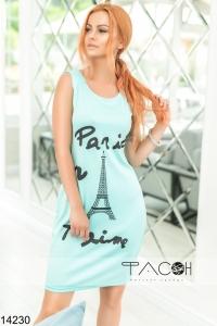 '.Платье с Эйфелевой башней .'