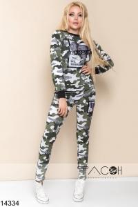 '.Спортивный костюм в стиле милитари .'