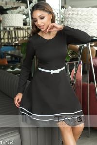 '.Коктейльное платье с рюшами .'