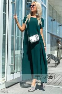 '.Платье асимметричной длины .'