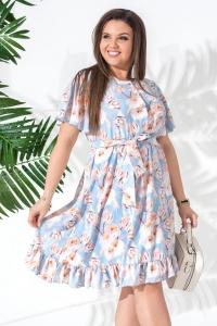 '.Цветочное платье .'