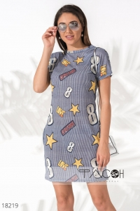 '.Короткое летнее платье .'