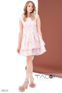 '.Платье с цветочным узором .'