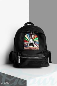 '.Декорированный молодежный рюкзак .'