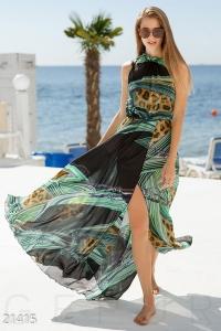 '.Легкое шифоновое платье .'