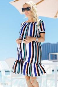 '.Яркое платье для беременных .'