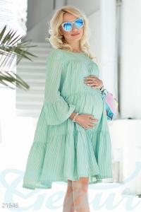 '.Клешеное платье для беременных .'