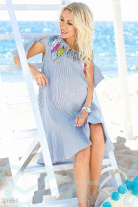 '.Стильное платье для будущих мам .'