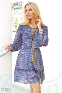 '.Воздушное шифоновое платье .'