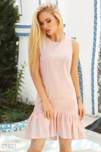 '.Лаконичное летнее платье .'