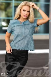 '.Прозрачная женская блуза .'