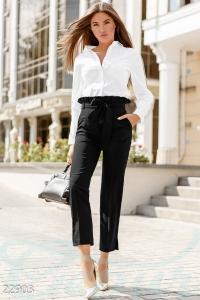 '.Стильные офисные брюки .'