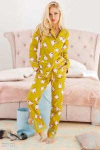'.Теплая женская пижама .'