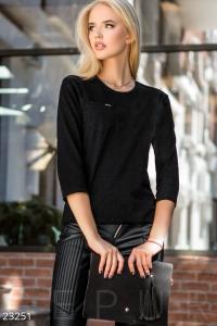 '.Тонкий трикотажный пуловер .'