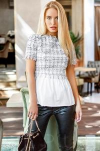 '.Неординарная женская блуза .'