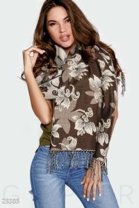 '.Теплый шарф-палантин .'