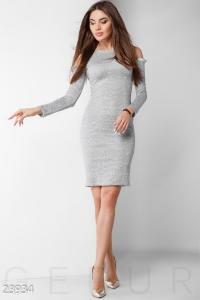 '.Ангоровое платье с люрексом .'