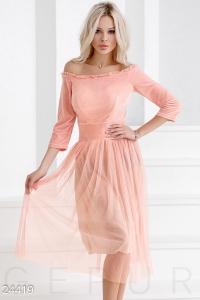 '.Пышное ретро-платье .'